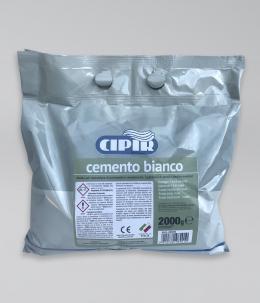 Cemento bianco in sacchetto