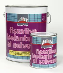 Fissativo isolante al solvente