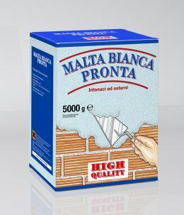 Malta bianca pronta