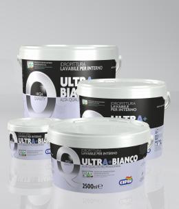 Pittura lavabile UltrA+Bianco